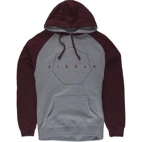 Vissla Refrus Hooded Sweatshirt at Buckle.com | Edgy Men's Style | Pinterest