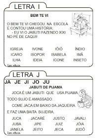 Fichas De Leitura Para Imprimir Atividades Alfabetizacao E