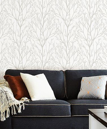 Loving This Treetops Peel Stick Wallpaper Decal On Zulily Zulilyfinds Peel And Stick Wallpaper Nuwallpaper Home Decor
