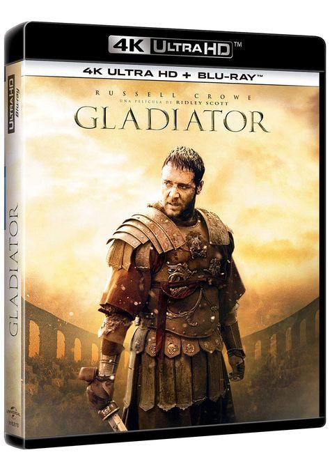 Gladiator 4k Uhd Bd Bd Extras Blu Ray Bd Uhd Gladiator Ray Gladiator Movie Gladiator Blu Ray