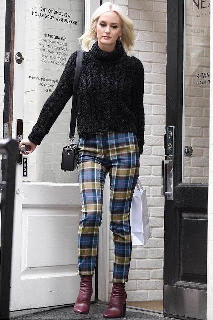 女っぽさを引き出す 大人可愛い チェック柄コーデ 着こなし術 miss classy ゴシップガール ファッション ファッションアイデア ファッション