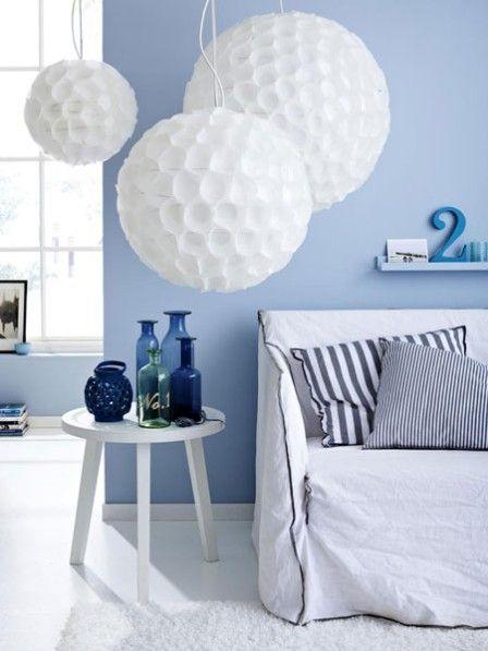 Mit der richtigen Farbe an der Wand, wirken kleine Räume größer. ALLE TIPPS>>>