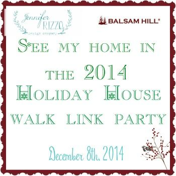 Join in on the holiday house walk link party for a chance to be in next years house walk. See over 30 decorated homes!