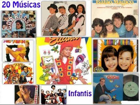 20 Musicas Infantis Para Animar A Sua Festa 1980 A 1990 Vol 1