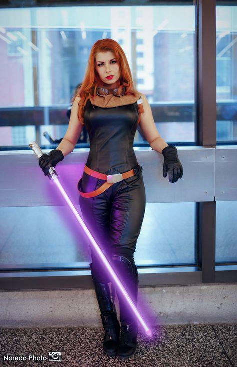 Star Wars - Mara Jade by Queen-Azshara.deviantart.com on