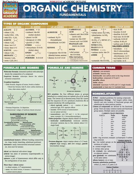 ORGANIC CHEMISTRY FUNDAMENTALS STUDY GUIDE (eBook Rental)