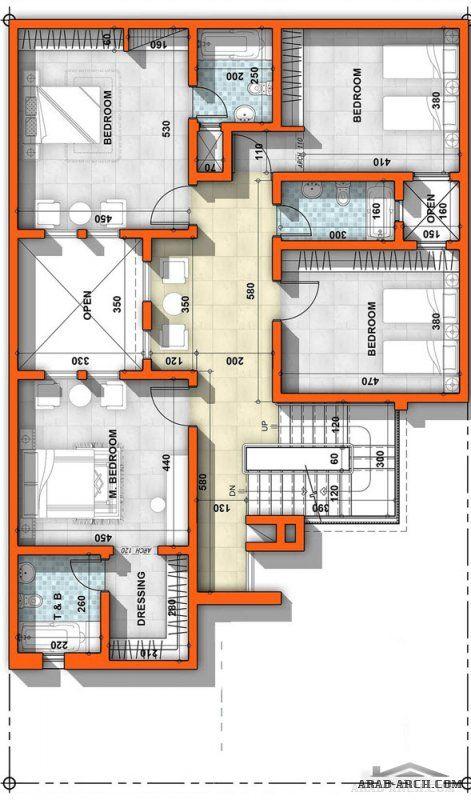 مخطط فيلا صغيرة مساحة الأرض 240 مساحة الدور الارضي 150 للمصمم المعمارى عمار ناصر Bungalow Floor Plans Model House Plan House Plans Mansion