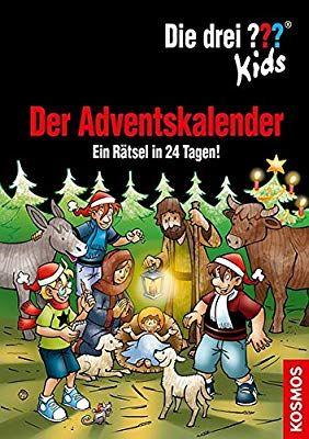 Die Drei Kids Der Adventskalender Ein Ratsel In 24 Tagen Extra Stickerbogen Amazon De Boris Pfeiffer Jan Sasse Adventkalender Adventskalender Advent