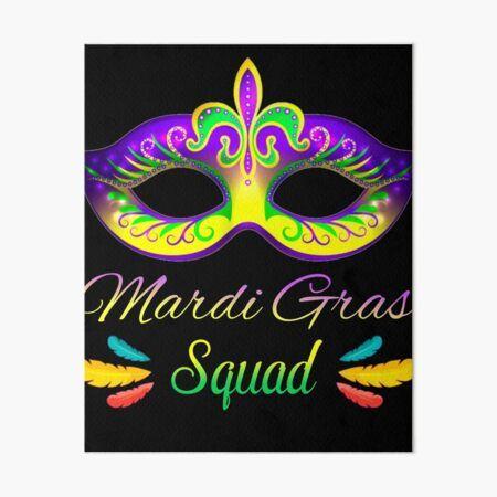 Mardi Wall Art Mardi Gras Decorations Art Mardi Gras