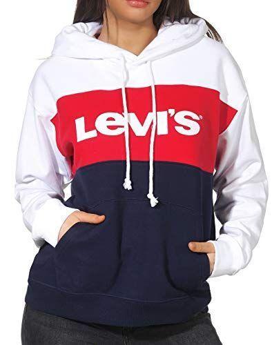 Levi's Damen Cb Sportswear Hoodie Kapuzenpullover . Finde