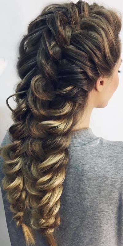 Mermaid Hairstyle For Long Hair Girl Hair Dos Sleek Hairstyles Long Hair Styles