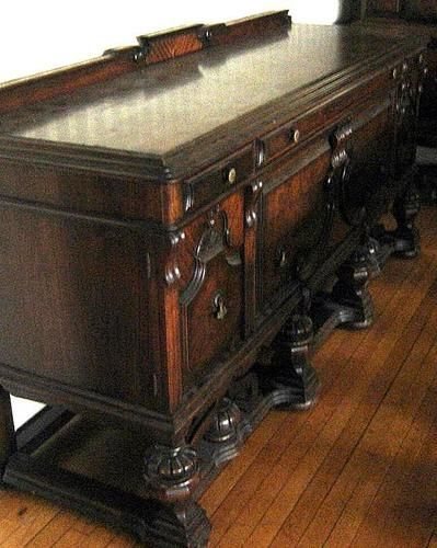 Antique West End Dining Buffet from the Rockford Illinois ...