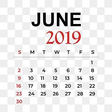 تقويم شهر يونيو 2019 يونيو Clipart جدول رموز أيقونات الشهر Png والمتجهات للتحميل مجانا 2019 Calendar Calendar June Calendar