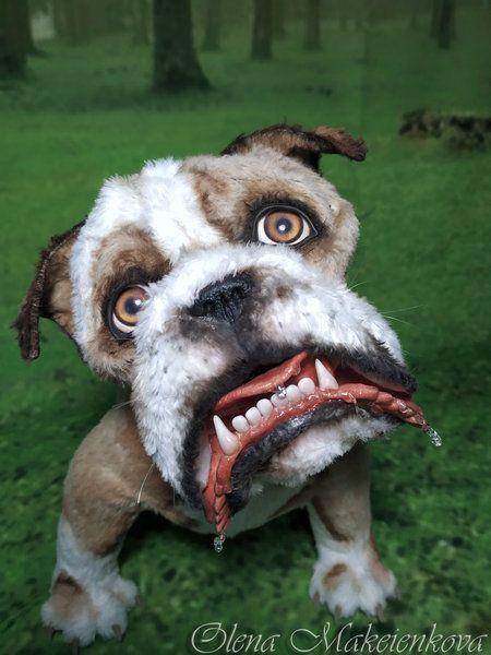 English Bulldog Shirley By Elena Makeenkova Dogs Puppies