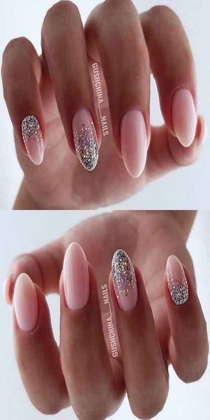 10 Natural Summer Pink Nails Design For Short Square Nails
