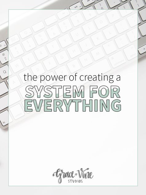 The Power of Creating Systems for Your Businesses
