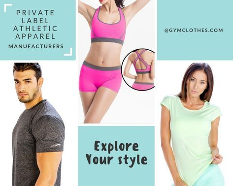 fitness clothing manufacturer custom activewear manufacturers