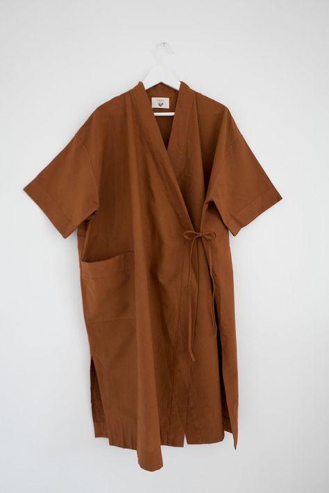 Terracotta Kimono Robe