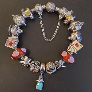 Pandora Bracelet Charms Beads / ALICE in Wonderland TEA CUP | Etsy ...