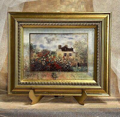 Claude Monet The Artist S House At Argenteuil Porcelain Goebel