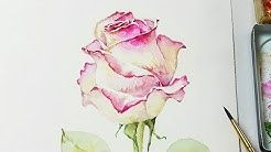2 Jay Lee Painting Youtube Wasserfarbenblumen Blumen Malen Wie Man Blumen Malt