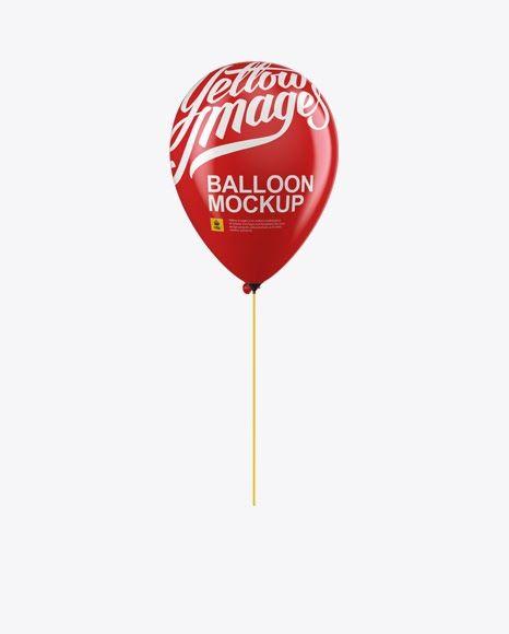 Download Psd Mockup Advertising Air Filled Air Filled Balloon Balloon Balloon On A Stick Celebrati Mockup Free Psd Free Psd Mockups Templates Stationery Mockup