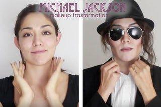 Michael Jackson Makeup Transformation In 2020 Michael Jackson Makeup Michael Jackson Halloween Michael Jackson Halloween Costume