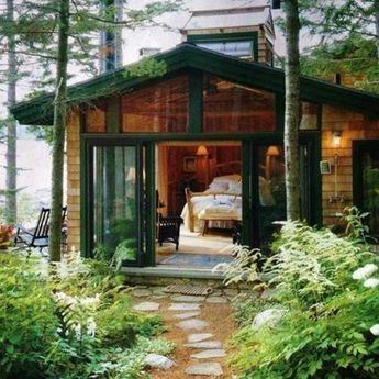 Mp6 55 Square Meters 7 Square Meters Lounge 17m2 Kitch Cottage Exterieur Maison Bois Cabine En Bois