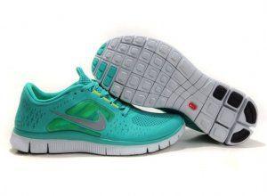 2012 Nike Free Run 5.0 V3 Men Shoes Green Silver