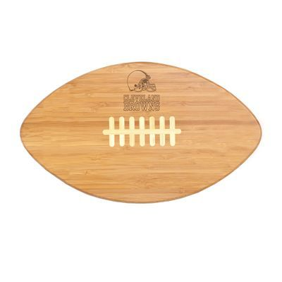 Cleveland Browns Football Shaped Cutting Board Service Tray Maybe This Would Encourage Him To Not Just Use The Coffee Table