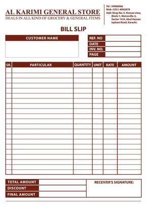 Jarifaly123 I Will Design Receipt Book Shop Paper Cash Memo And Docket Book For 5 On Fiverr Com Invoice Design Memo Format Invoice Design Template