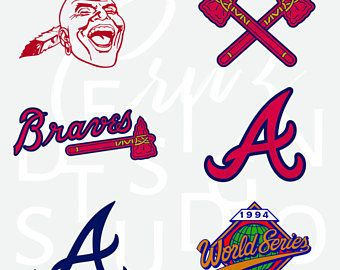 Atlanta Braves Baseball Atl Svg Logo Sports Atlanta Braves Braves Svg