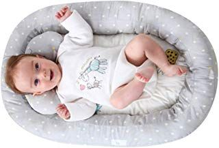 Kakiblin Baby Bassinet For Bed Baby Lounger Bed Bassinet For Newborn Baby Portable Crib Suitable For 0 8 Months Baby Bassinet Baby Lounger Bed Bassinet