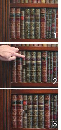 Manorbindery Co Uk Secret Doors Locks Jpg Bookcase Door Pinterest Commercial Interiors 40 Yearen Cave