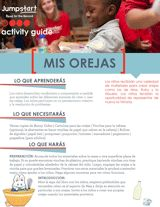 Mis Orejas | Read for the Record Craft | Early Reading Activity - TeacherVision.com