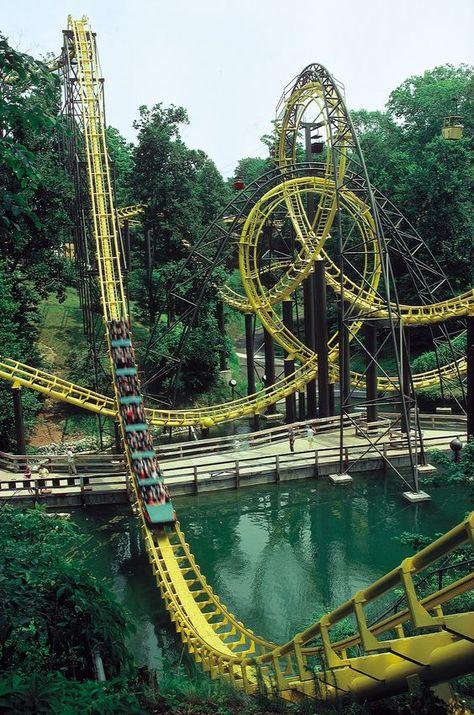 48 Ideas De Fun Park Parques Parques De Atracciones Atraccion De Feria