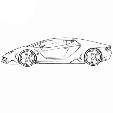 Have You Been Looking For A Lambo Coloring Page If So Then You Found What You Were Looking For Open This Car Drawings Car Drawing Easy Lamborghini Aventador