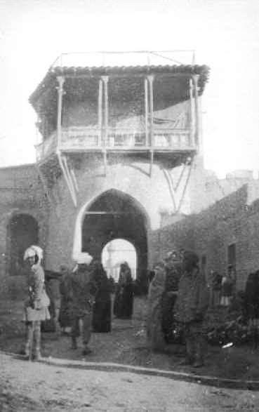 من أبواب بغداد في العهد العثماني - باب المعظم  3bc883664b9c4a91e1242f332c9b37c6