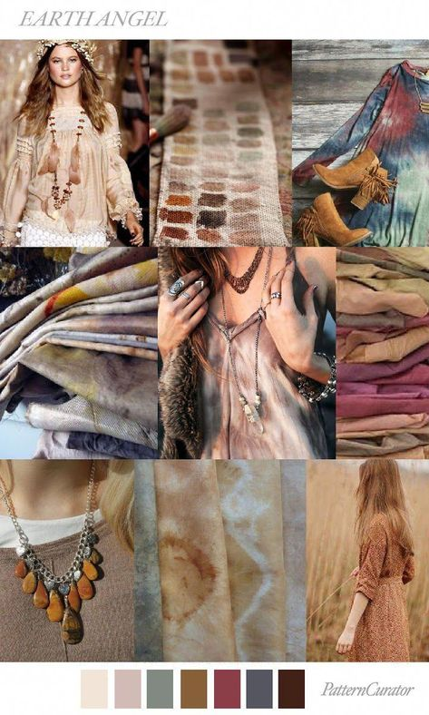 TRENDS // PATTERN CURATOR - EARTH ANGEL . FW 2018 #fashiontrends