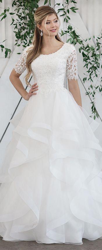 Unique Wedding Dresses Spring 2019 Martin Thornburg Lace