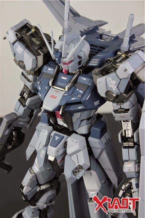 GUNDAM GUY: MG 1/100 GAT-X105 Aile Strike Gundam - Painted Build