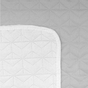 160x220 Tagesdecke Weiss Grau Zip Around Wallet Pot Holders