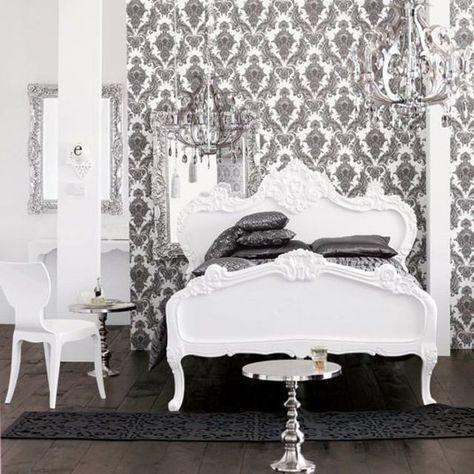 Deco Baroque Deco Chambre Noire Deco Chambre Et Chambre Baroque