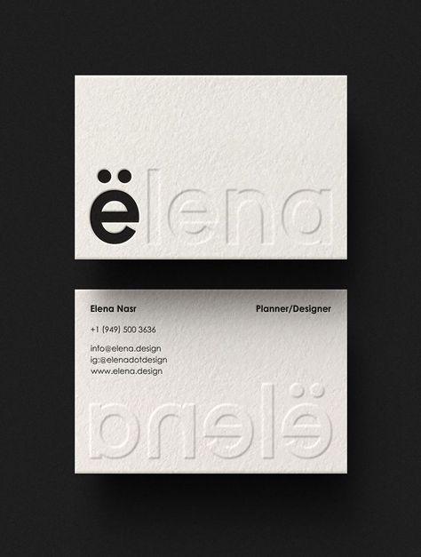 Elena Brand Identity - Mindsparkle Mag. #businesscards #businesscarddesign #businesscardcreative #businesscardinspiration #businesscardlayout #brandedbusinesscards #brandingbusinesscards #creativebusinesscard
