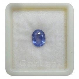 Natural Blue Sapphire Fine 4 2 8ct Sku 11277360 Blue Sapphires Neelam Gemstones Saturn Shanni Planet A Blue Sapphire Sapphire Gemstone Neelam Stone
