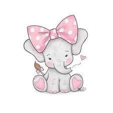 Resultado De Imagen Para Elefantes Tiernos Dibujo Arte Infantil