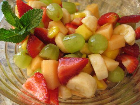 Tequila Lime Syrup for Fruit Salad | Food, Fruit salad