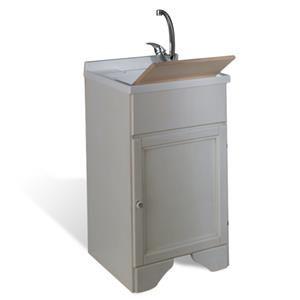 Offerte Lavatoio Per Lavanderia.Mobile Lavatoio In Legno Bianco Decape 45 X 50 Per Lavanderia Shabby