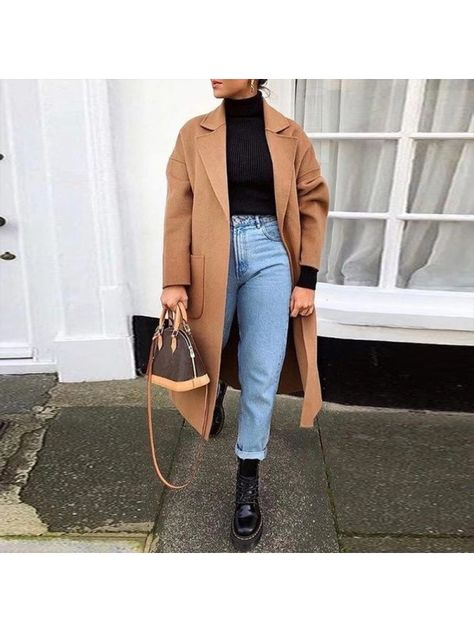Looks com Sobretudo Feminino - Inverno Winter Outfits,Winter is the coldest season beginning from December to February in the northern side of the equator and in the southern half of the globe from June t.