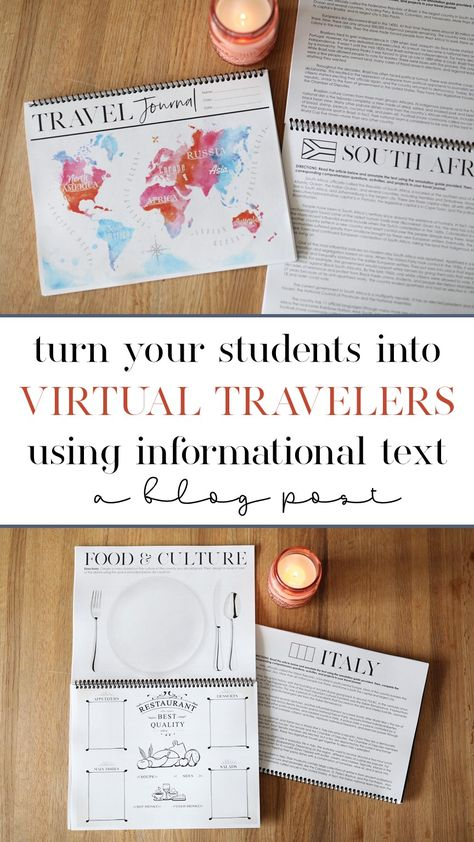 Turn Your Students Into Virtual Travelers Using Informational Text